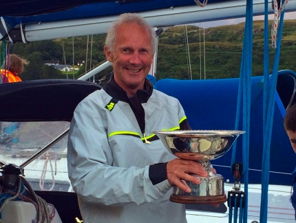 Calum Matheson wins the 2017 Skye Sailing Club Round Raasay Pursuit, Portree, Isle of Skye, Scotland