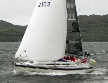 Stoirm Mhor, Westerly Typhoon, wins Skye Sailing Club's Midsummer in the Minch Race 2017