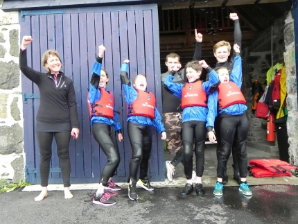 Carbost Primary P7s enjoy a day sailing with Skye Sailing Club, Portree, Skye, Scotland