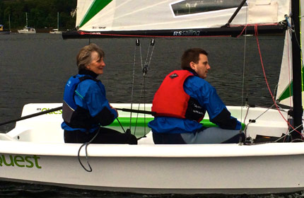 adult evening course sailing skye