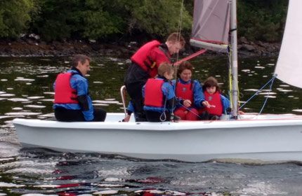 family sailing experience skye
