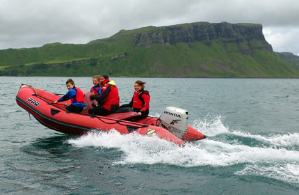 powerboat skye trotternish ridge